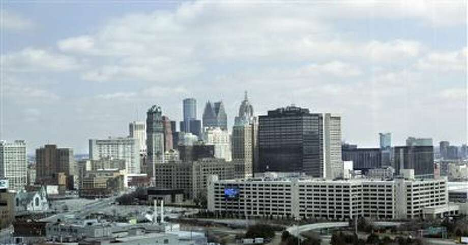 The city of Detroit is seen in this file photo. Photo: AP / AP