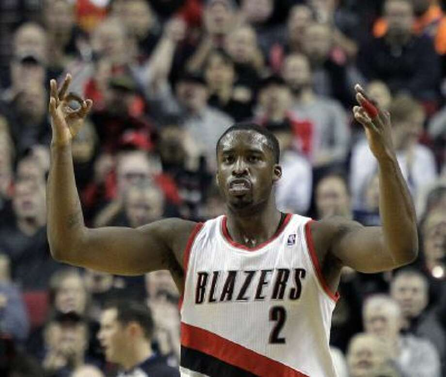 Wesley Matthews, Trail Blazers guard, and his team are sitting pretty in the Western Conference.