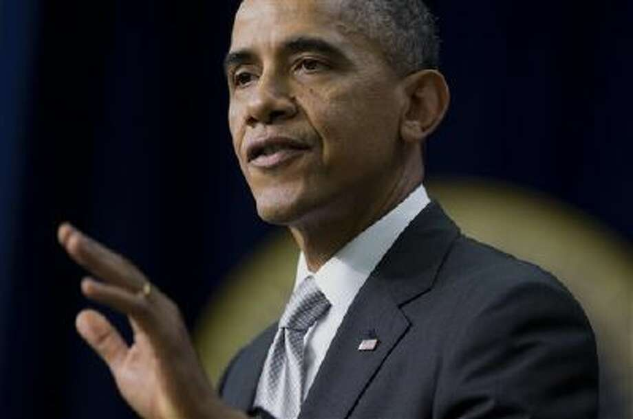 The president is speaking Wednesday about the economy. Photo: AP / AP