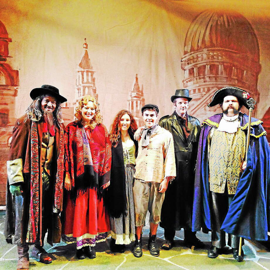"""Submitted photo - Oddfellows Playhouse The cast of """"Oliver"""" after a recent dress rehearsal in Middletown. Photo: Journal Register Co."""