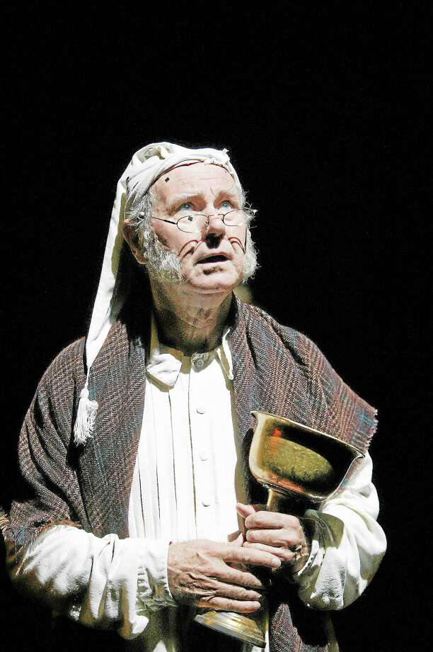 "Contributed photo —Hartford StageBill Raymond As Scrooge At The Hartford Stage's production of ""A Christmas Carol."" Photo: © T Charles Erickson / © T Charles Erickson"