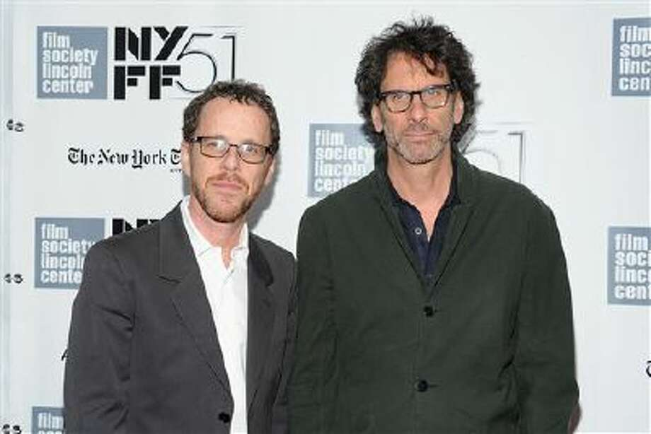 "This Sept. 28 file photo shows directors Joel Coen, right, and Ethan Coen at the premiere of ""Inside Llewyn Davis"" during the 51st New York Film Festival in New York. Photo: Evan Agostini/Invision/AP / Invision"