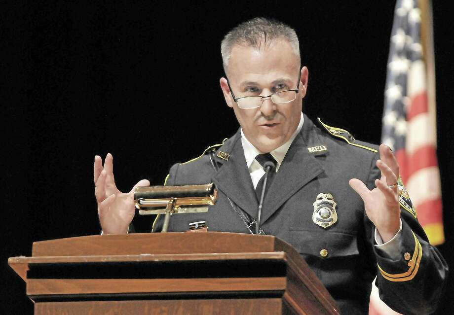 Middletown Police Chief William McKenna. Photo: Catherine Avalone - The Middletown Press / TheMiddletownPress