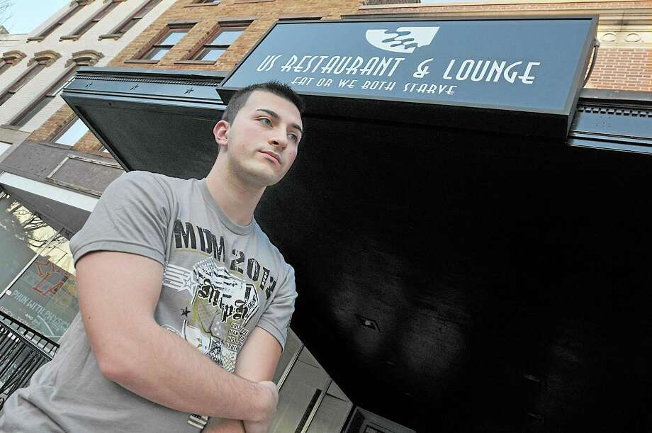 Wallingford resident Mike Lozowski, 21 worked as a bartender at US Restaurant for two months and never received a paycheck. Catherine Avalone - The Middletown Press Photo: Journal Register Co. / TheMiddletownPress