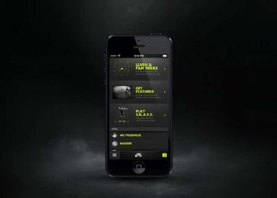 Nike SB Skate app.