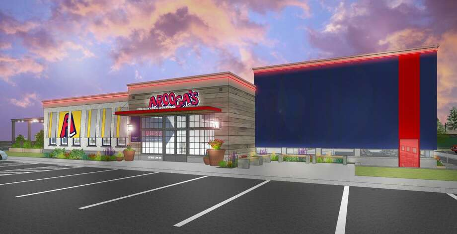 An arftist's rendering of an Arooga's sports bar planned for Shelton. Photo: Contributed Photo