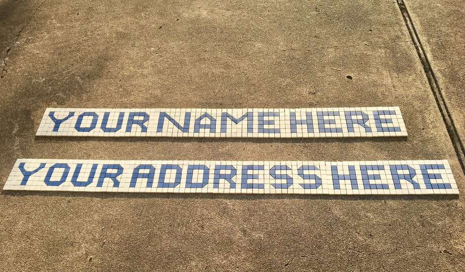 Houstonians can now buy their own customized Houston blue tiles ...