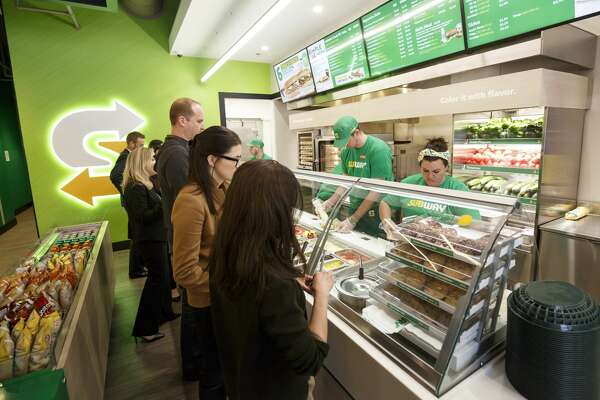 "Subway said it has introduced a new ""Subway Fresh Forward"" design."
