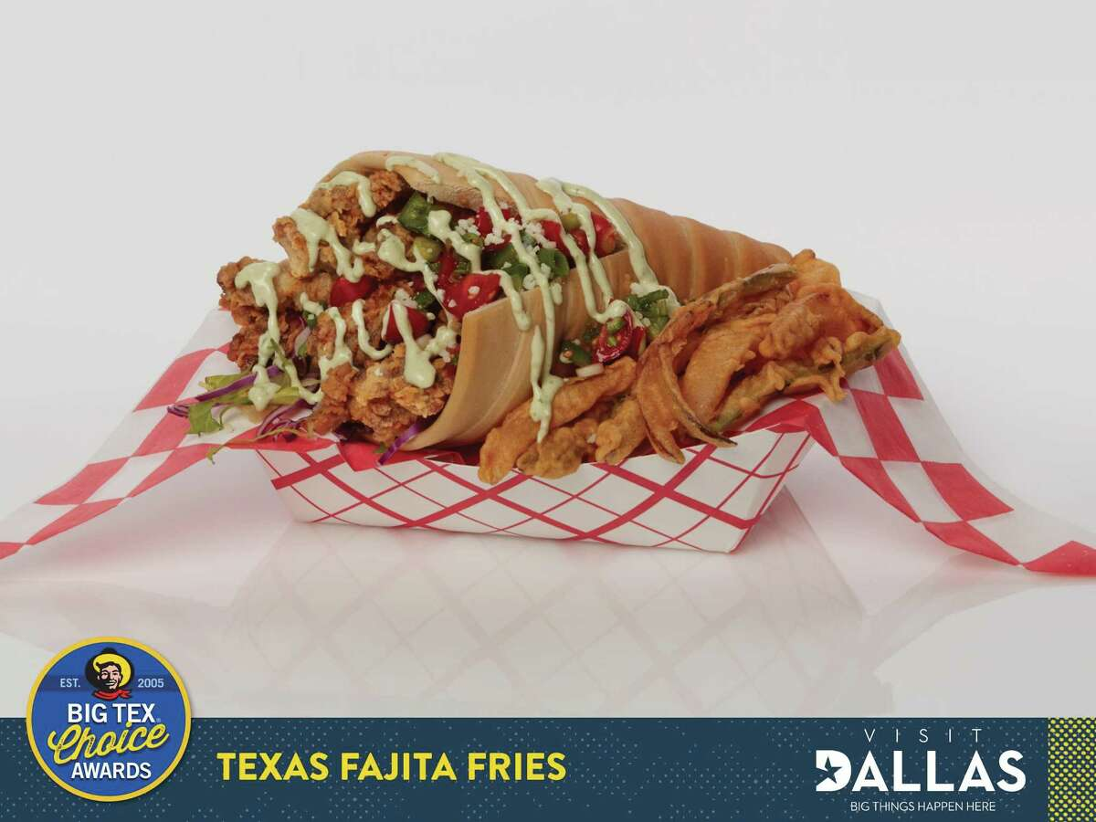 """Texas Fajita Fries are one of five finalists in the """"savory"""" category at the 2017 Big Texas Choice Awards."""