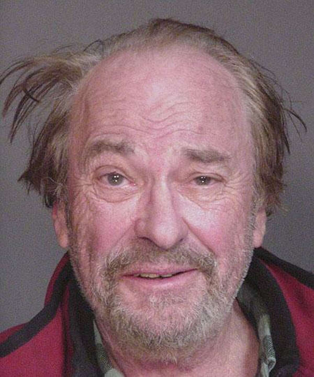 Actor Rip Torn is shown in a mugshot from an earlier New York state drunken driving arrest. The picture became an Internet station.