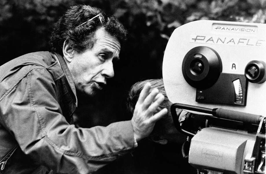 "In this 1985 publicity photo originally released by CBS Productions, director Arthur Penn is shown during the filming of ""Target."" Penn, a myth-maker and myth-breaker who in such classics as ""Bonnie and Clyde"" and ""Little Big Man"" refashioned movie and American history and sealed a generation's affinity for outsiders, died Tuesday, Sept. 28, 2010 in New York.  He was 88.(AP Photo/CBS productions, file) Photo: ASSOCIATED PRESS / CBS Productions"
