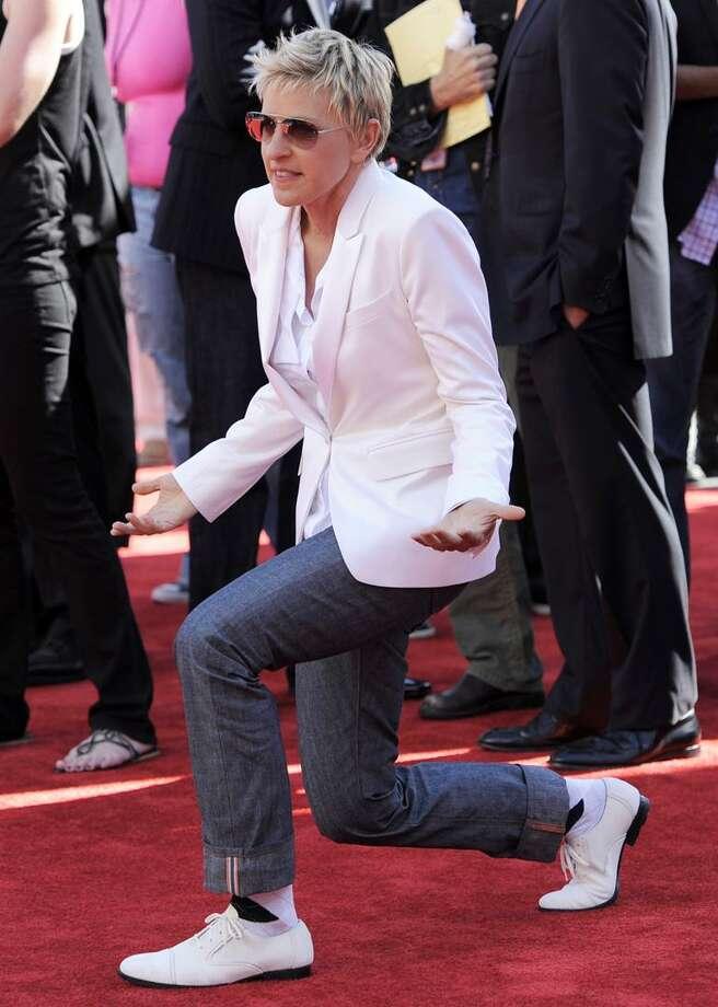 Ellen DeGeneres Photo: AP / AP