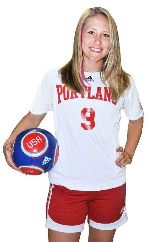 Portland soccer - Alyssa Unikewicz