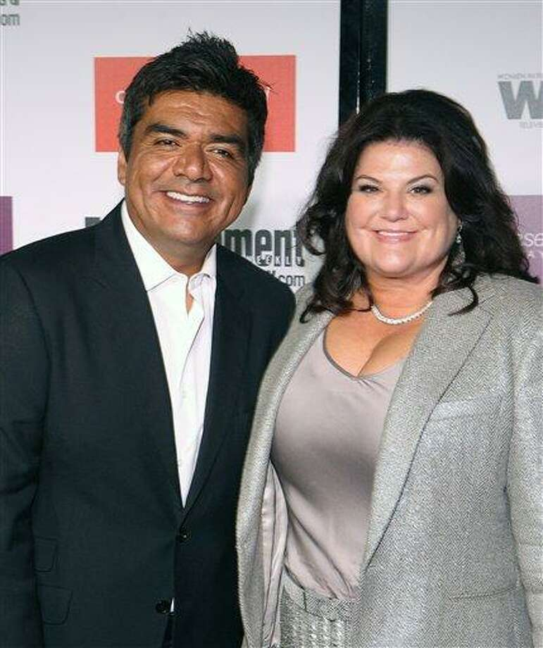 FILE - In this Sept. 17, 2009 file photo, George Lopez and his wife Ann Serrano attends the Entertainment Weekly and Women In Film Pre-Emmy Party in Los Angeles. (AP Photo/Shea Walsh, file) Photo: AP / AP2009