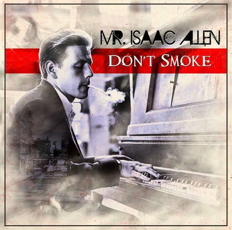 "SMOKIN: Artwork for Mr. Isaac Allen's debut album, ""Don't Smoke."""