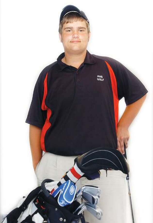 Portland's top golfer, Jeff Realejo. (Catherine Avalone / Middletown Press)