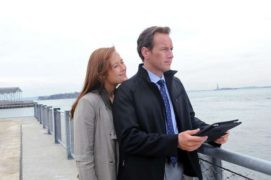 "CBS: Patrick Wilson plays a charismatic surgeon, and Jennifer Ehle plays his deceased wife in the new CBS drama ""A Gifted Man."" / 2011 CBS BROADCASTING INC. ALL RIGHTS RESERVED"