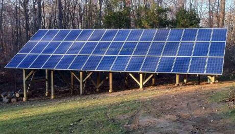 Solar panels in Killingworth
