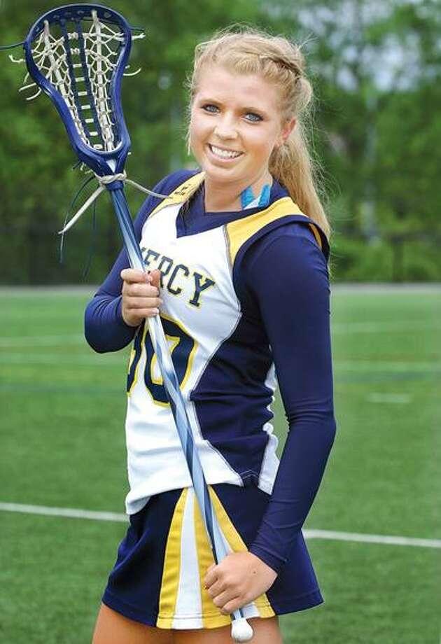 Mercy lacrosse senior, Maura Calamari