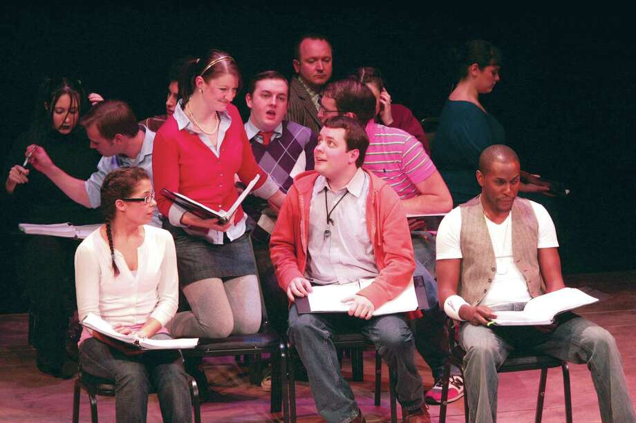 """The cast of """"Band Geeks!"""" at the 2009 Goodspeed Festival of New Artists. (Contributed photo)"""