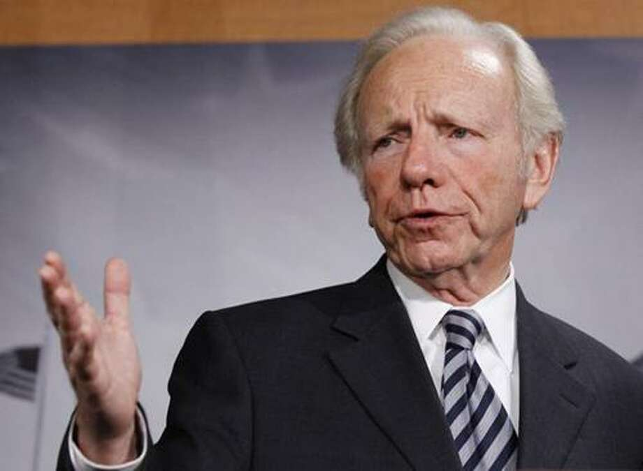 In this Dec. 18, 2010 file photo, Sen. Joseph Lieberman, I-Conn., speaks during a news conference in Washington. Lieberman was one of just three members of Congress who, in 2010, signed the Civility Project's pledge to be civil and respectful of others whether or not he agrees with them. (AP Photo/Alex Brandon, File)