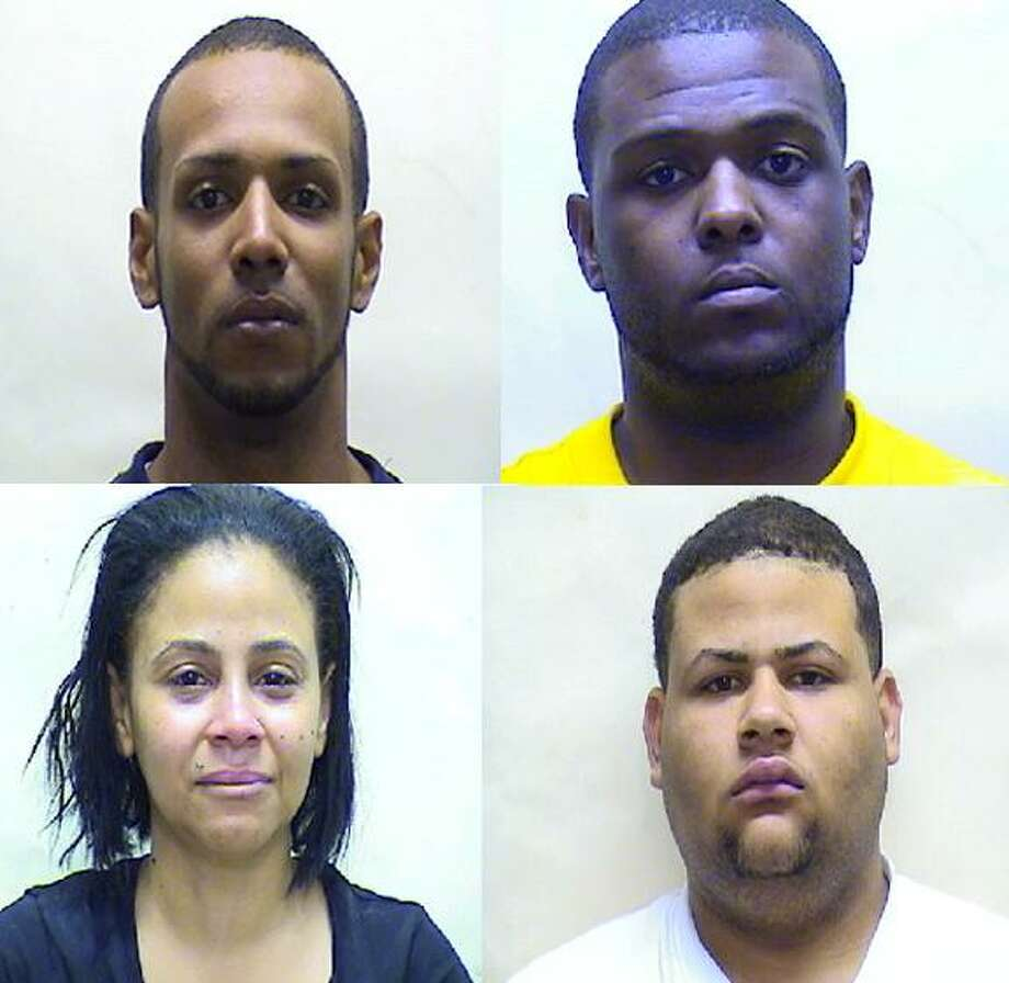 Three out of the five arrested after a drug raid Thursday were arraigned in Middletown Superior Court the following day.