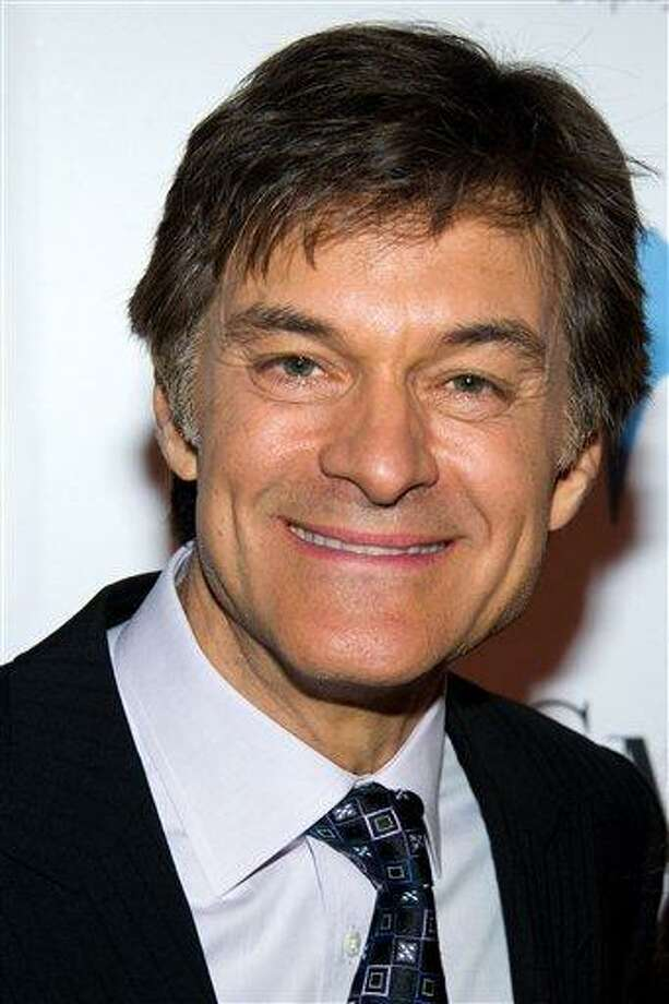 FILE - In this May 9, 2011 file photo, Dr. Mehmet Oz attends the 46th Annual 2011 National Magazine Awards in New York. The federal Food and Drug Administration and a leading doctor are disputing claims by the television show host that trace amounts of arsenic in many apple juice products pose a health risk. (AP Photo/Charles Sykes, File) Photo: AP / AP2011