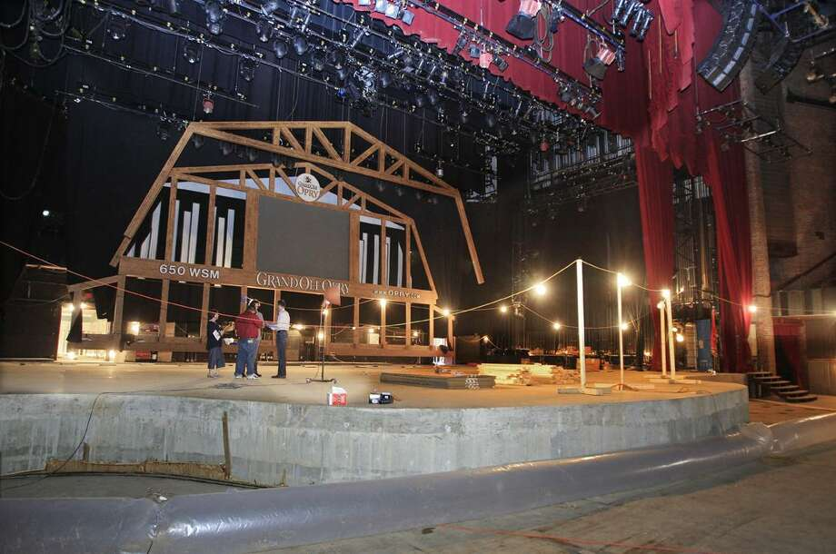 The Grand Ole Opry House is seen on Thursday in Nashville, Tenn. The Opry House was heavily damaged from recent flooding. (AP) Photo: AP / AP