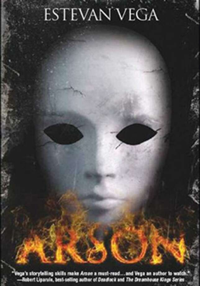 """The cover of Estevan Vega's latest novel, """"Arson,"""" which was released by Tate Publishing this month. (courtesy photo)"""