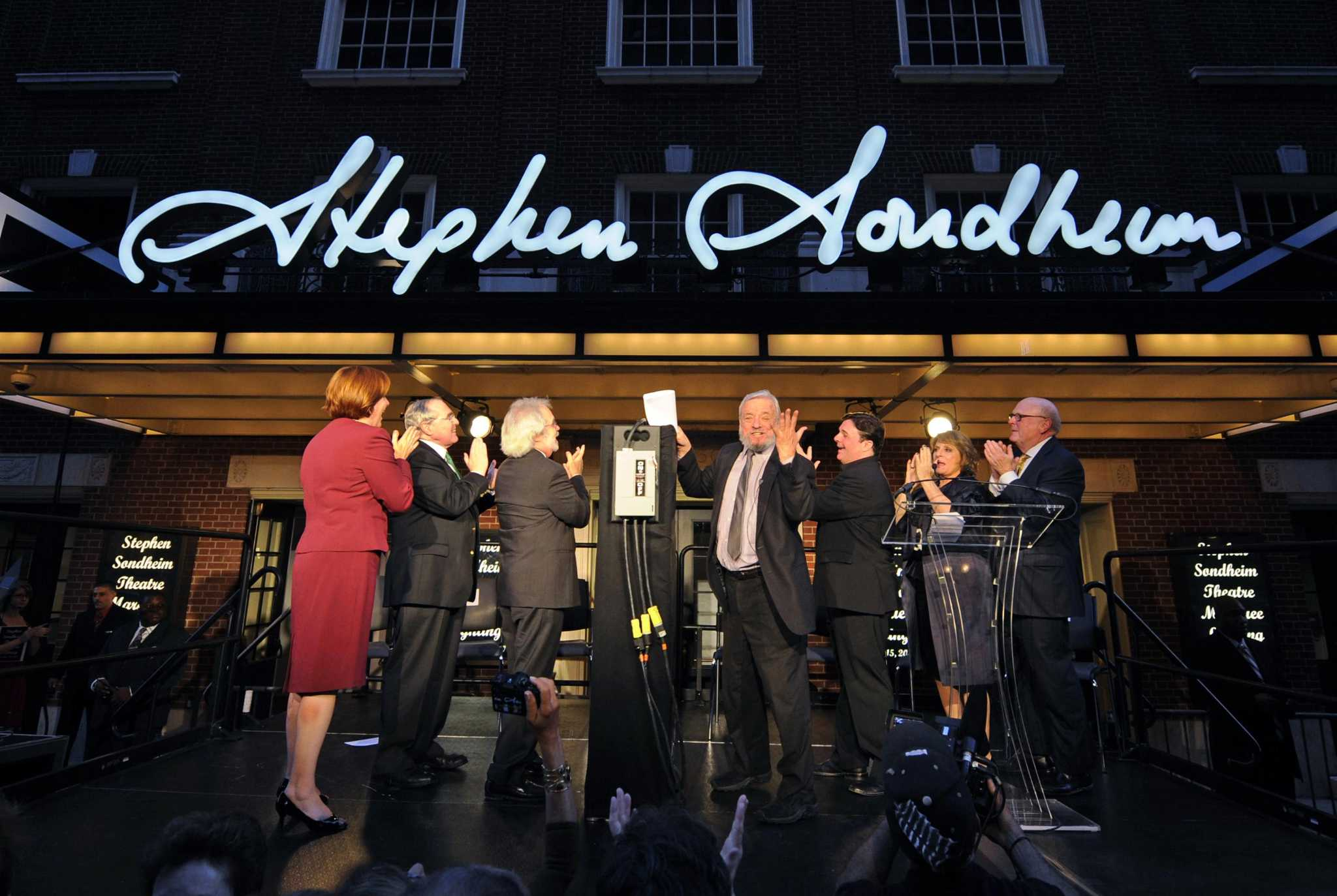 Stephen Sondheim Honored With A Broadway Theater The Middletown Press