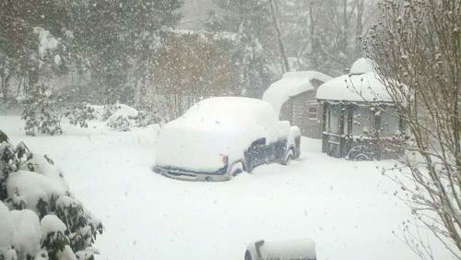 A photo from East Hampton submitted by Gleen Suprono at 11:52 a.m.