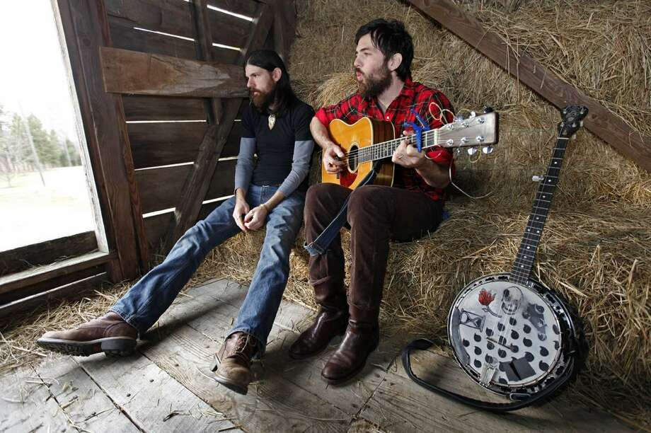 In this Jan. 27, 2010 photo, Seth Avett, left, and his brother Scott Avett of The Avett Brothers band, are shown in Concord, N.C.(AP) Photo: AP / AP