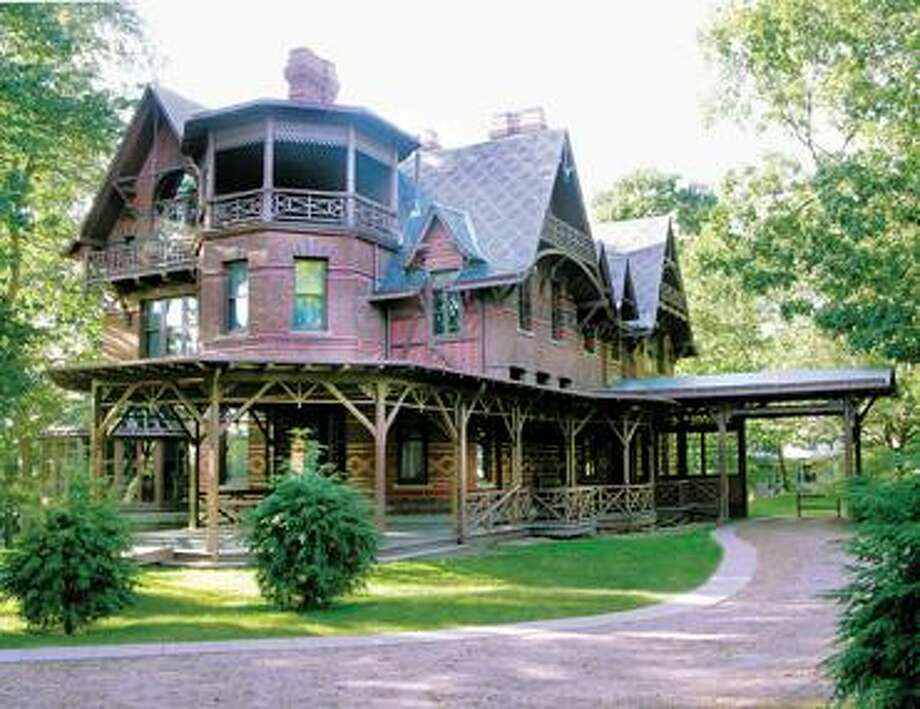 The Mark Twain House and Museum seen from its exterior. (Courtesy photo)