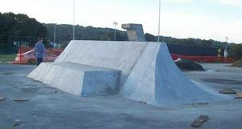 The Jewett City Skate Park was built by Mystic-based Paprocki Concrete and Masonry, the company that has been hired for the Peckham Park project.