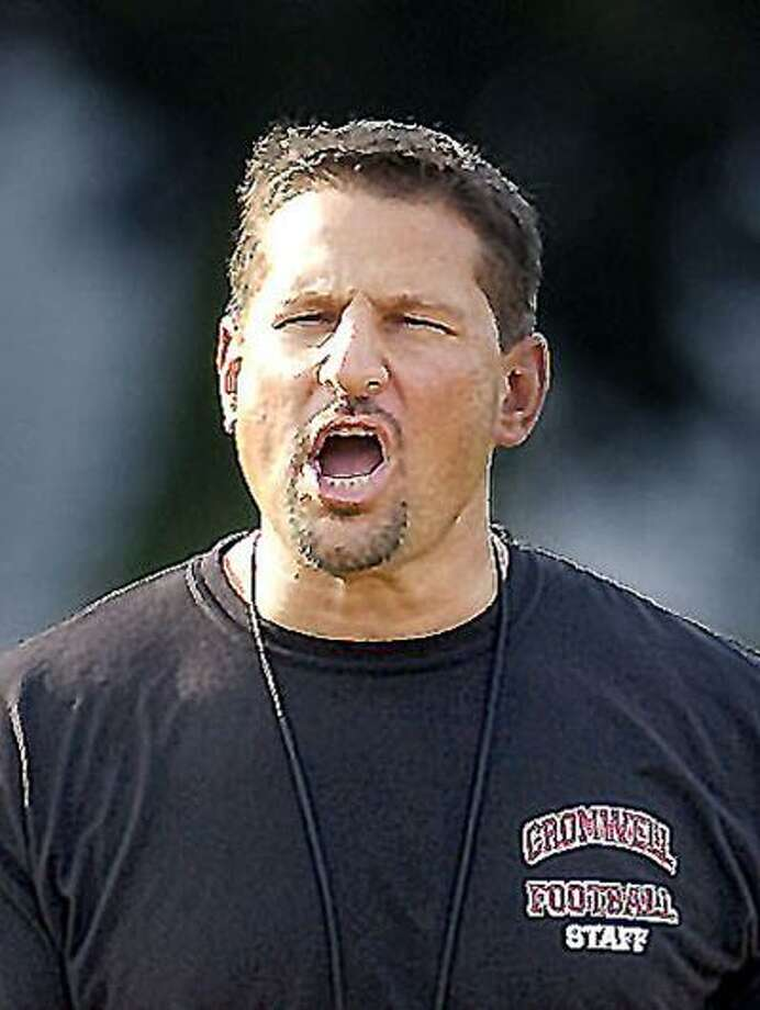 Cromwell Football Coach, Sal Morello. Catherine Avalone/The Middletown Press 9.6.07