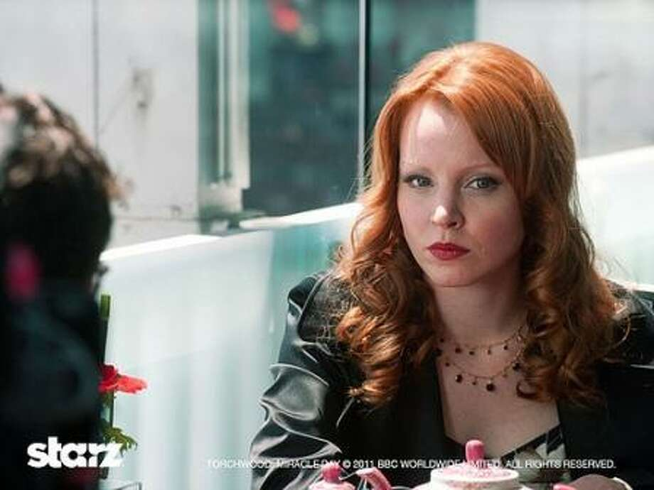 """Lauren Ambrose in """"Torchwood: Miracle Day."""""""
