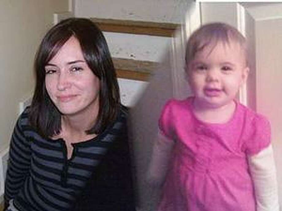 Kimberly Johnson, left, allegedly kidnapped a 1-year-old, right, and then abandoned her in the parking lot of Aetna.