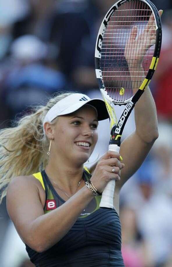 Caroline Wozniacki. (AP) Photo: AP / AP