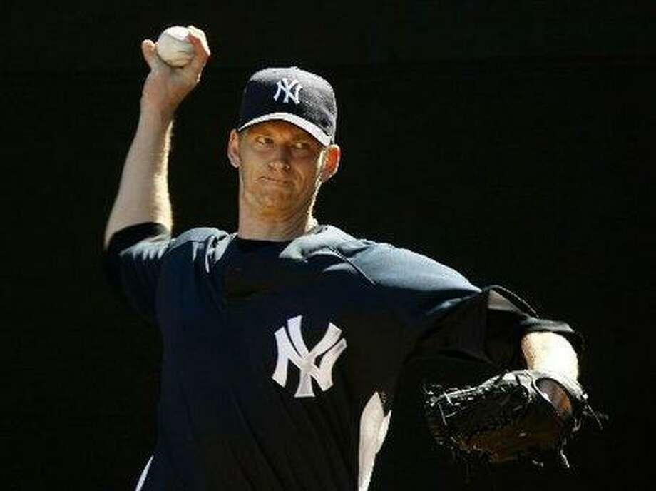 A.J. Burnett of the New York Yankees.