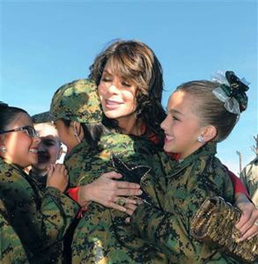 "Paula Abdul  greets fans at the West Coast open casting call of ""Live To Dance"" on Thursday, Oct. 28, 2010, at CBS Center Staging in Burbank, Calif. (AP Photo/Katy Winn) Photo: AP / FR170044 AP"