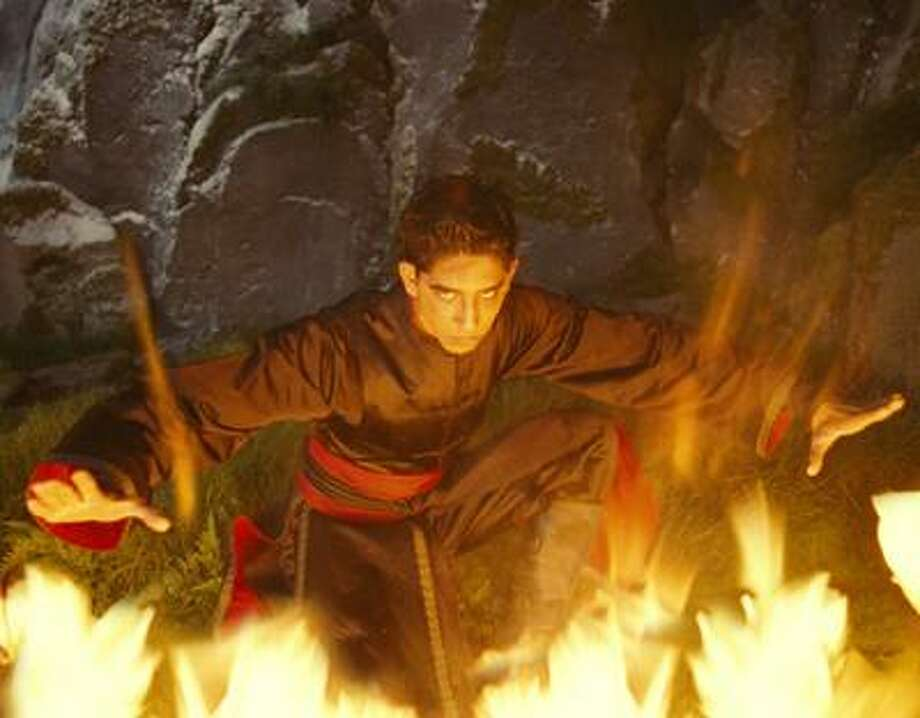 """In this publicity image released by Paramount Pictures, Dev Patel plays Prince Zuko in a scene from, """"The Last Airbender"""". (AP Photo/Paramount Pictures, Industrial Light & Magic) Photo: ASSOCIATED PRESS / AP2010"""