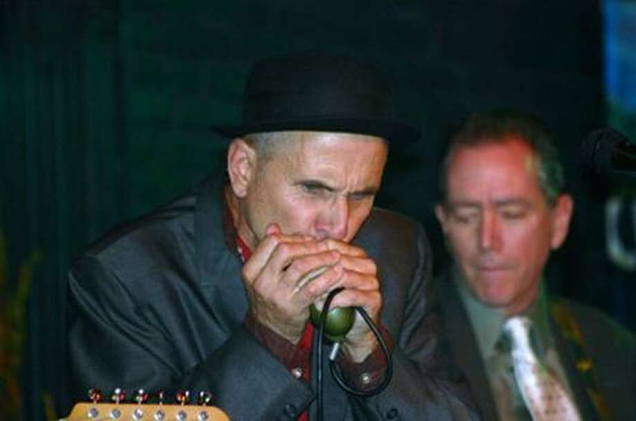 D Smith Blues Band plays at the Swedish Social Club benefit Saturday. (Domenic Forcella/Submitted photo)
