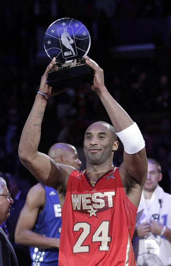 the NBA basketball All-Star Game in Los Angeles, Sunday, Feb. 20, 2011. The West won 148-143. (AP Photo/Jae C. Hong)
