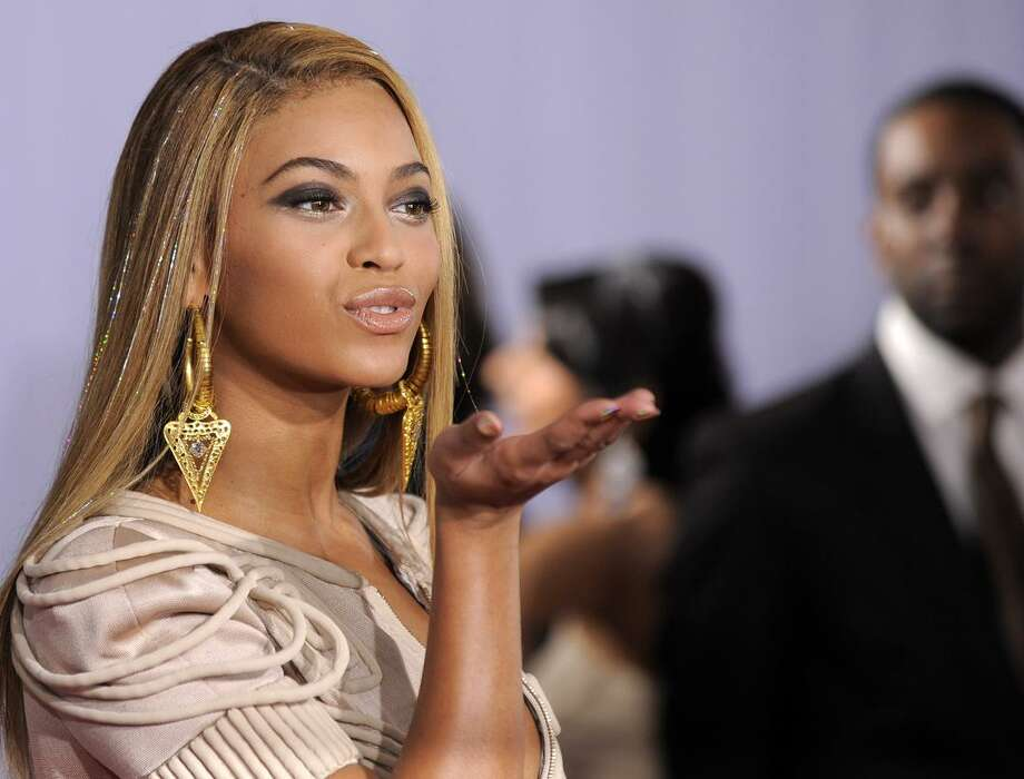Beyonce arrives at the Grammy Awards on Sunday, in Los Angeles. (AP) Photo: AP / AP