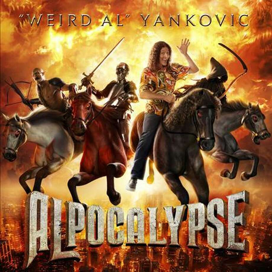 """""""Weird"""" Al Yankovic's latest album will be released Tuesday.(Journal Register News Service)"""