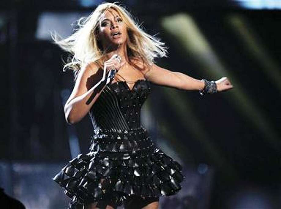 (AP) Beyonce performs at the Grammy Awards Sunday in Los Angeles. Photo: AP / AP