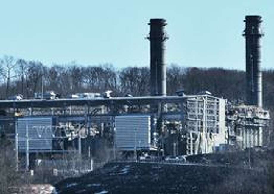 (File photo) The Kleen Energy power plant on River Road in Middletown is seen Feb. 7 after the deadly explosion.