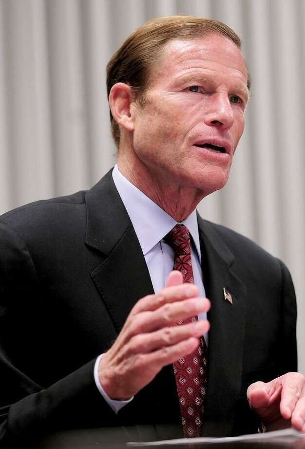 Richard Blumenthal / photo by Brad Horrigan, Journal Register News
