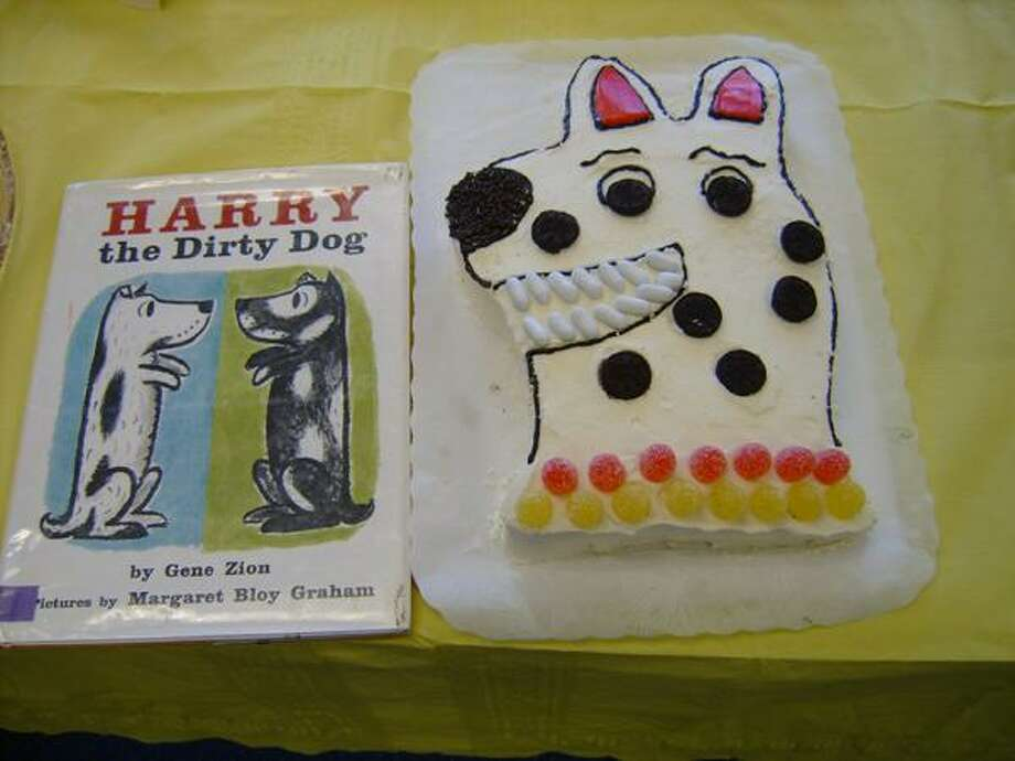 Pictured is a cake created for the Edible Book Festival. (Submitted photo)