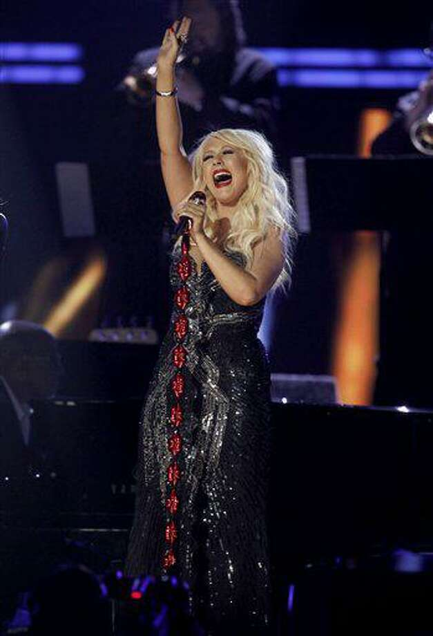 Christina Aguilera performs onstage at the 53rd annual Grammy Awards on Sunday, Feb. 13, 2011, in Los Angeles. (AP Photo/Matt Sayles) Photo: AP / AP